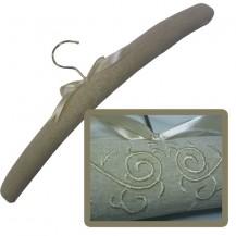 Coat Hanger - Linen - Brown - Artistic Design