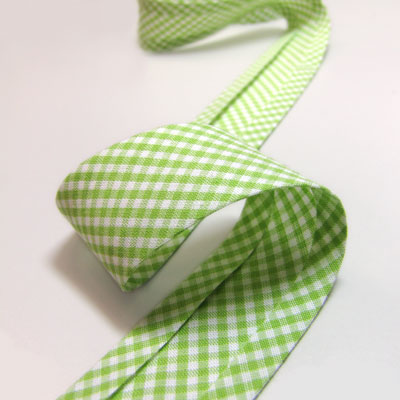 Gingham Bias Binding, 25mm