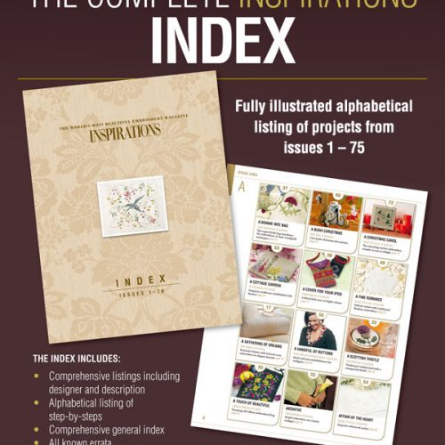 Inspirations Index, issues 1 to 75