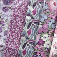 Liberty Fabric Handkerchiefs - Pink Hues