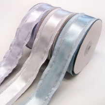 Satin Ribbon 38mm wide - Silver