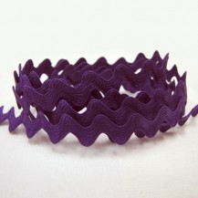 Ric Rac Purple - 12mm wide
