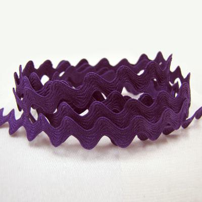 Ric Rac Purple - 12mm wide
