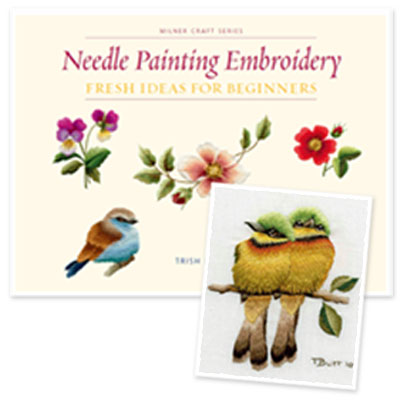 Needle Painting Embroidery - Fresh Ideas for Beginners