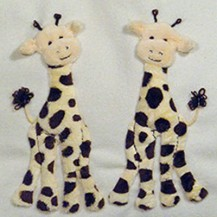Windflower Embroidery - Giraffes