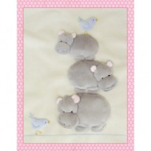 Windflower Embroidery - Balancing Hippos