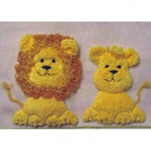 Windflower Embroidery - Lions