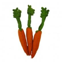 felt food dutch carrots