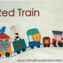 red zoo train