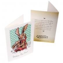 Jenkins the hare baby kiss card