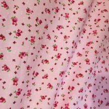 Bows and roses fabric