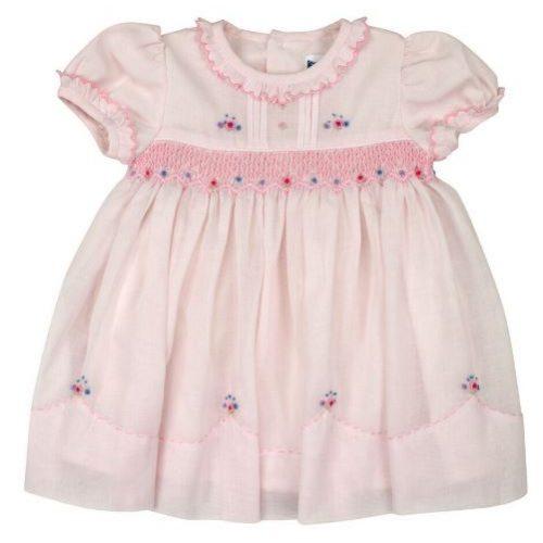 Classic pink Smocked Dress