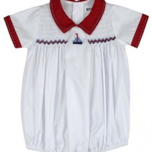 Sail away red Sunsuit