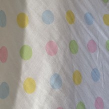 spotted double layer voile