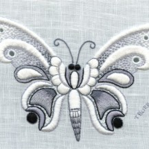 charcoal buttterfly