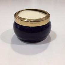 small ceramic pot navy
