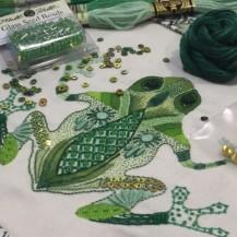 emerald frog