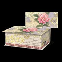 vinatge floral soap