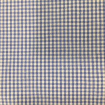 light blue micro check