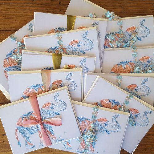 card elephant