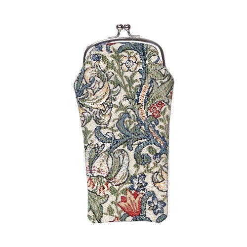 William Morris Glasses Pouch - Golden Lily