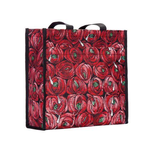 Rose and Teardrop Shopper Bag